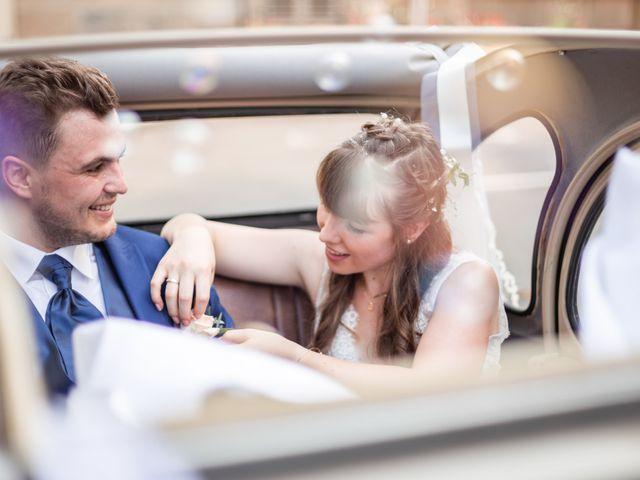 Le mariage de David et Charlène à Arcey, Doubs 1