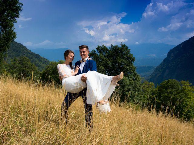 Le mariage de Kévin et Marine à Marlens, Haute-Savoie 105