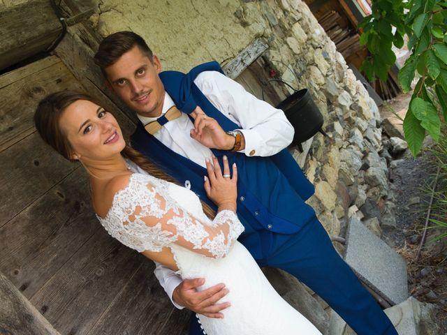 Le mariage de Kévin et Marine à Marlens, Haute-Savoie 121