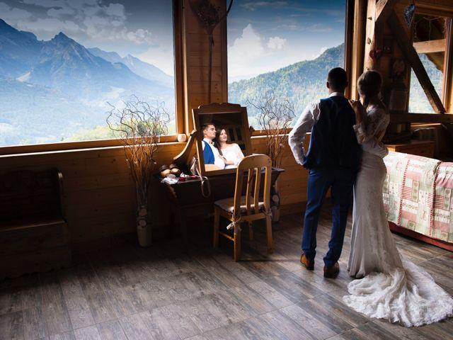 Le mariage de Kévin et Marine à Marlens, Haute-Savoie 123