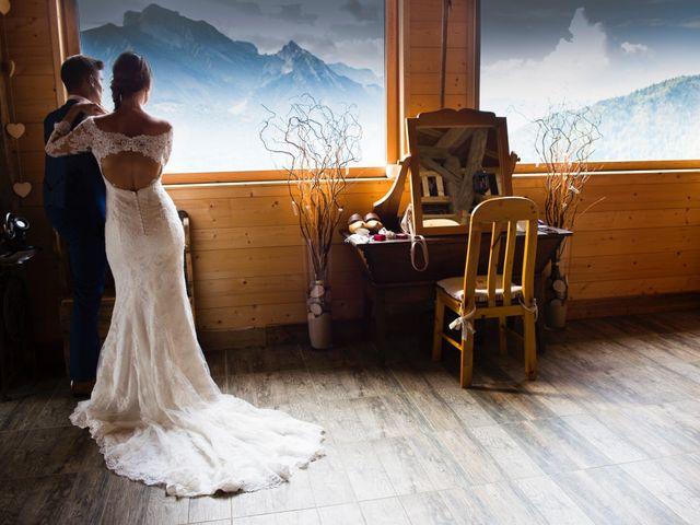 Le mariage de Kévin et Marine à Marlens, Haute-Savoie 124