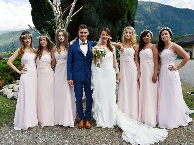 Le mariage de Kévin et Marine à Marlens, Haute-Savoie 96