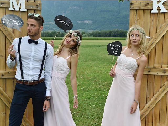 Le mariage de Kévin et Marine à Marlens, Haute-Savoie 99