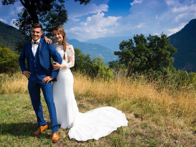 Le mariage de Kévin et Marine à Marlens, Haute-Savoie 110