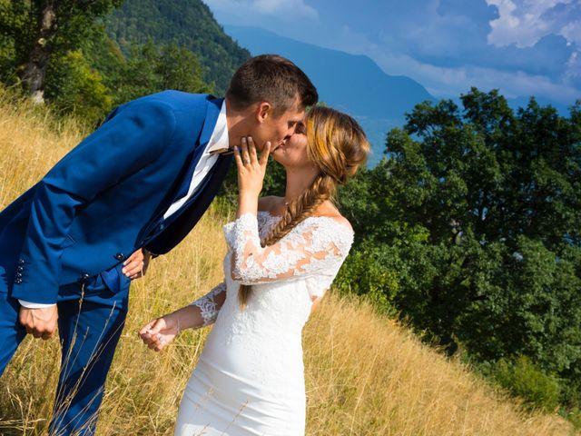 Le mariage de Kévin et Marine à Marlens, Haute-Savoie 113