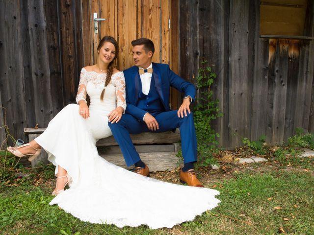 Le mariage de Kévin et Marine à Marlens, Haute-Savoie 116