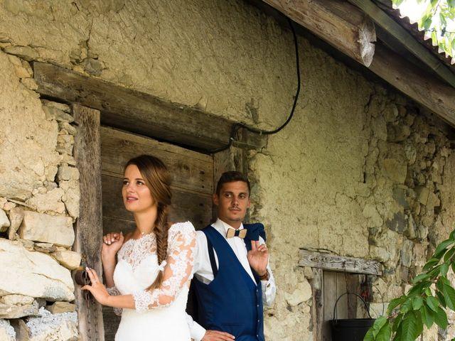 Le mariage de Kévin et Marine à Marlens, Haute-Savoie 120