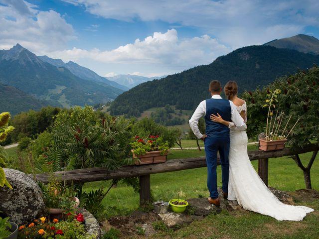Le mariage de Kévin et Marine à Marlens, Haute-Savoie 102