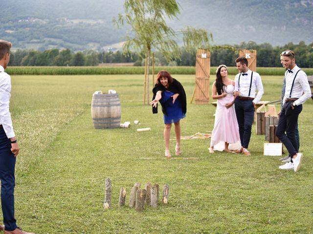 Le mariage de Kévin et Marine à Marlens, Haute-Savoie 95