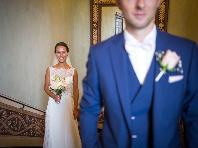 Le mariage de Frédéric et Pauline à Saint-Jean-d'Ardières, Rhône 4