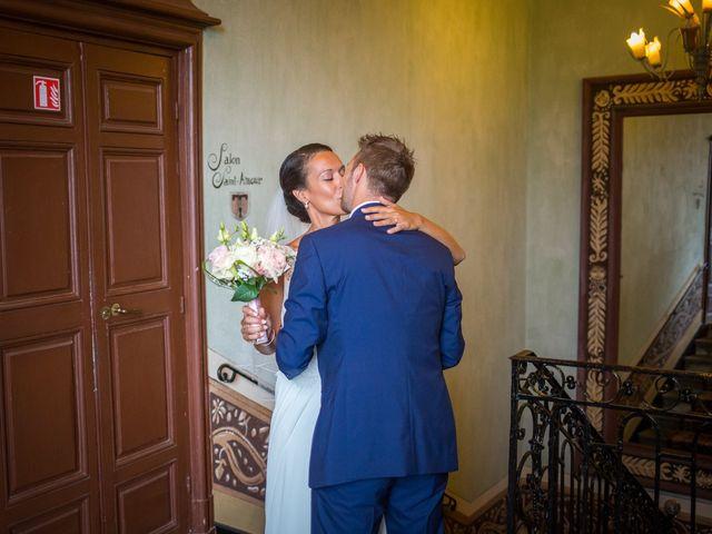 Le mariage de Frédéric et Pauline à Saint-Jean-d'Ardières, Rhône 5
