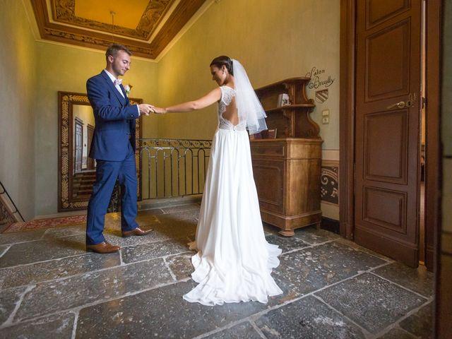 Le mariage de Frédéric et Pauline à Saint-Jean-d'Ardières, Rhône 6