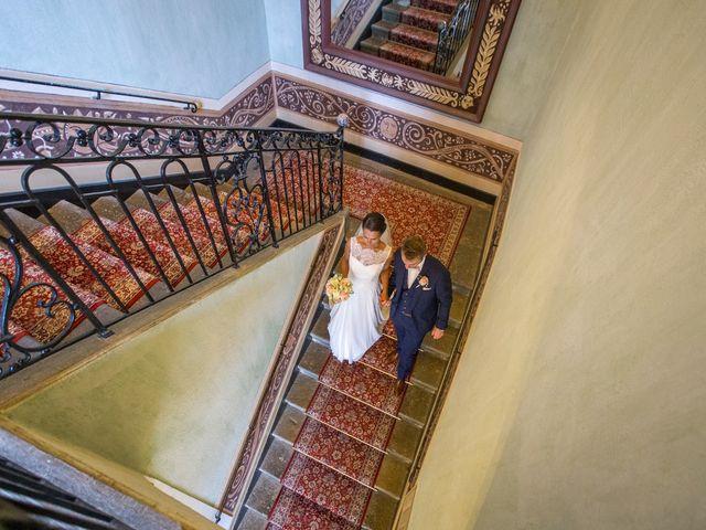 Le mariage de Frédéric et Pauline à Saint-Jean-d'Ardières, Rhône 7