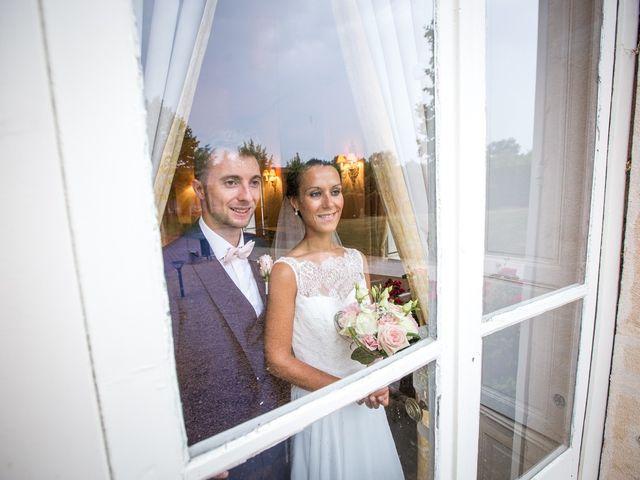 Le mariage de Frédéric et Pauline à Saint-Jean-d'Ardières, Rhône 9