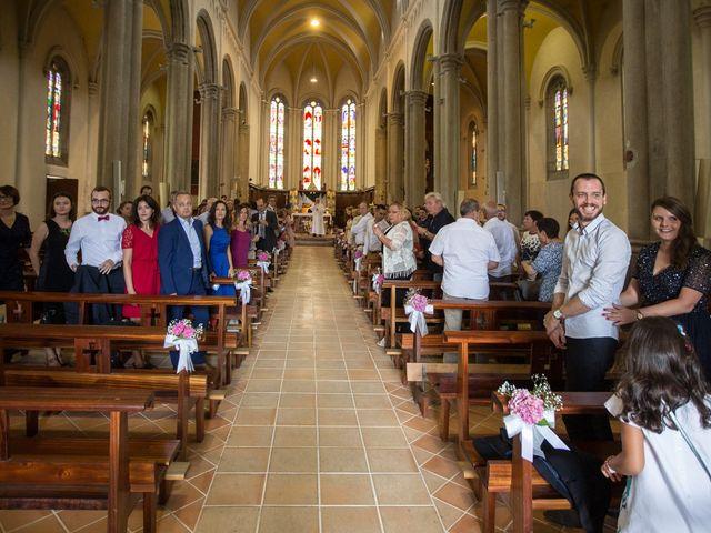 Le mariage de Frédéric et Pauline à Saint-Jean-d'Ardières, Rhône 16
