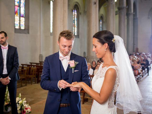 Le mariage de Frédéric et Pauline à Saint-Jean-d'Ardières, Rhône 20