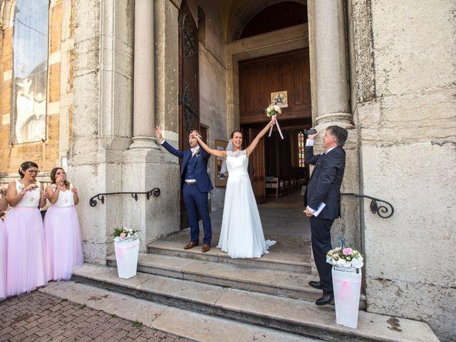 Le mariage de Frédéric et Pauline à Saint-Jean-d'Ardières, Rhône 26