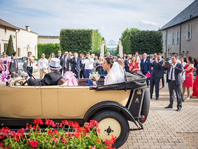 Le mariage de Frédéric et Pauline à Saint-Jean-d'Ardières, Rhône 30