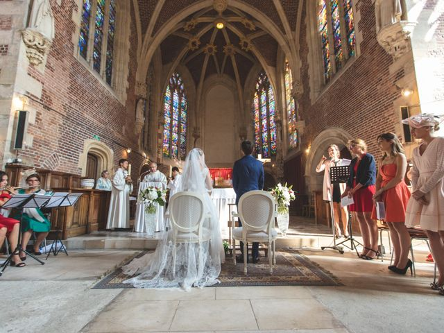 Le mariage de Thimothée et Clémence à Tilloloy, Somme 15