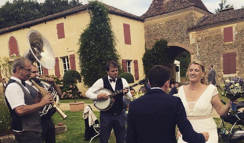 Le mariage de Alexis et Albane à Amou, Landes