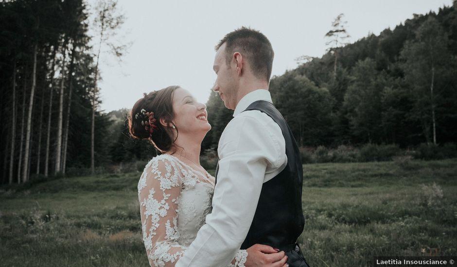 Le mariage de Jonathan et Johanny à Senones, Vosges