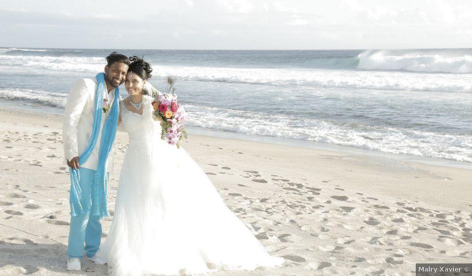 Le mariage de Dominique et Sabrina à Saint-Joseph, La Réunion