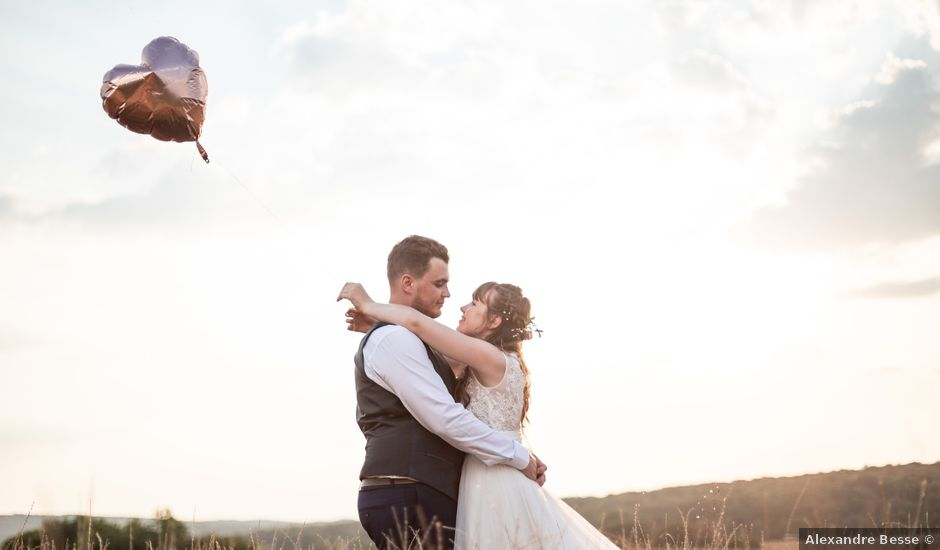 Le mariage de David et Charlène à Arcey, Doubs