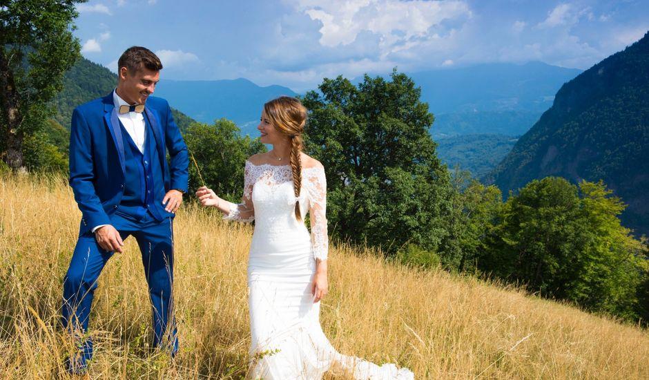 Le mariage de Kévin et Marine à Marlens, Haute-Savoie