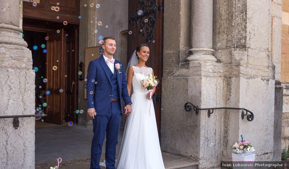 Le mariage de Frédéric et Pauline à Saint-Jean-d'Ardières, Rhône