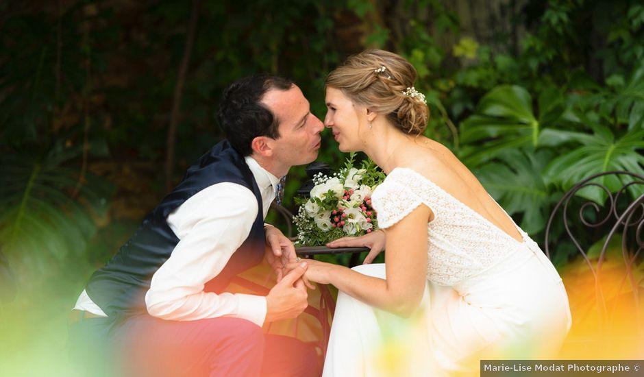 Le mariage de Simon et Fanny à Pollestres, Pyrénées-Orientales