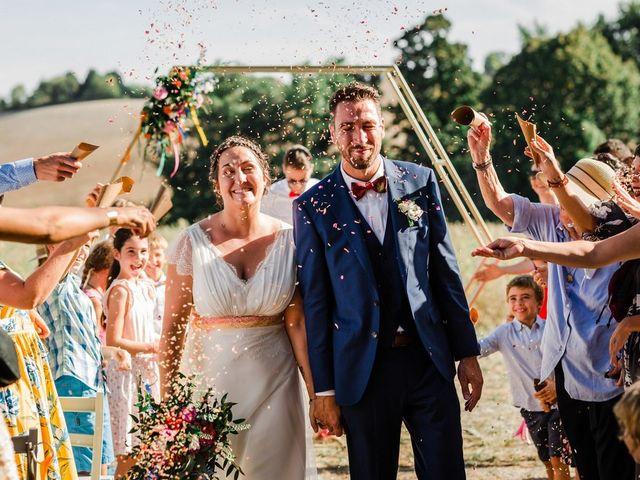 Le mariage de CLÉMENT et CAMILLE à Fauguerolles, Lot-et-Garonne 22