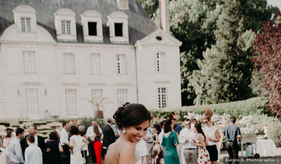 Le mariage de Fabrice et Maud à Saint-Michel-sur-Loire, Indre-et-Loire