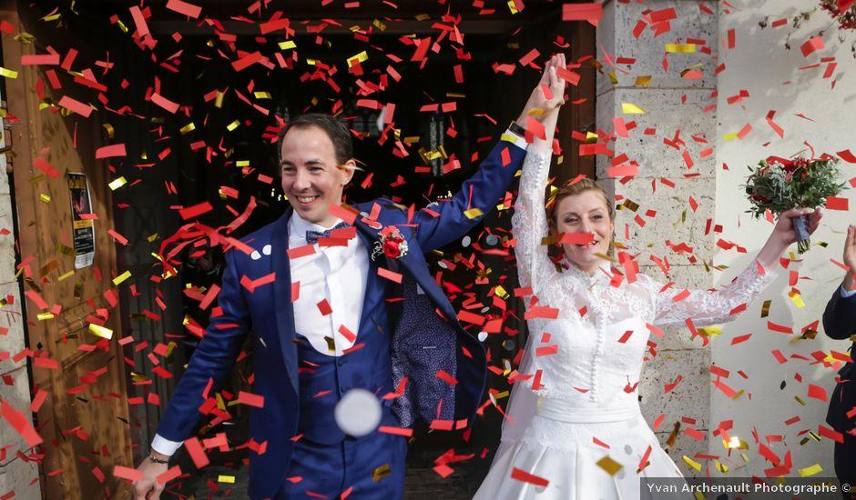 Le mariage de Arnaud et Elisabeth à Chevillon, Yonne