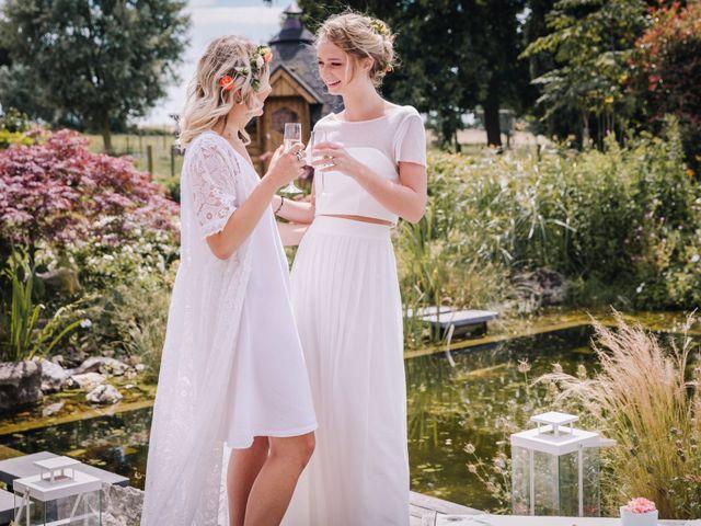 Le mariage de Elise et Myriam à Halluin, Nord 11