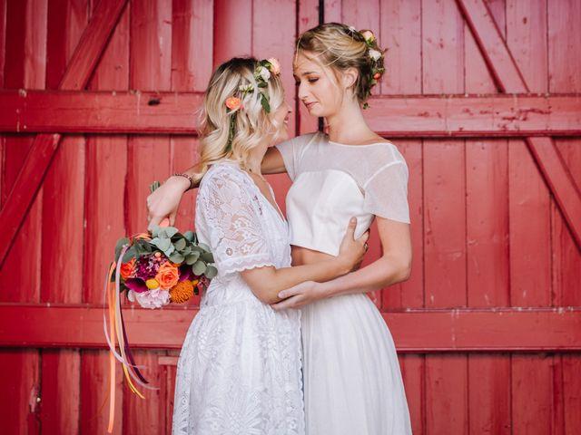 Le mariage de Myriam et Elise