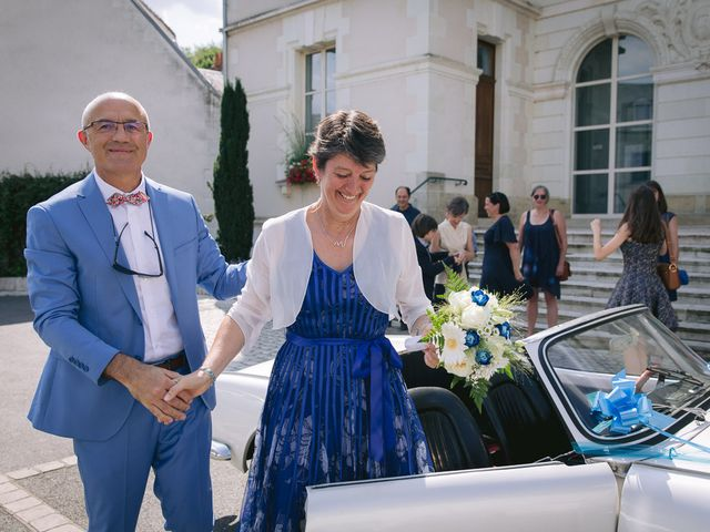 Le mariage de Franck et Carine à Savonnières, Indre-et-Loire 1