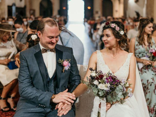 Le mariage de Elodie et Raphaël à Entrecasteaux, Var 42