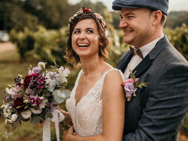 Le mariage de Elodie et Raphaël à Entrecasteaux, Var 74