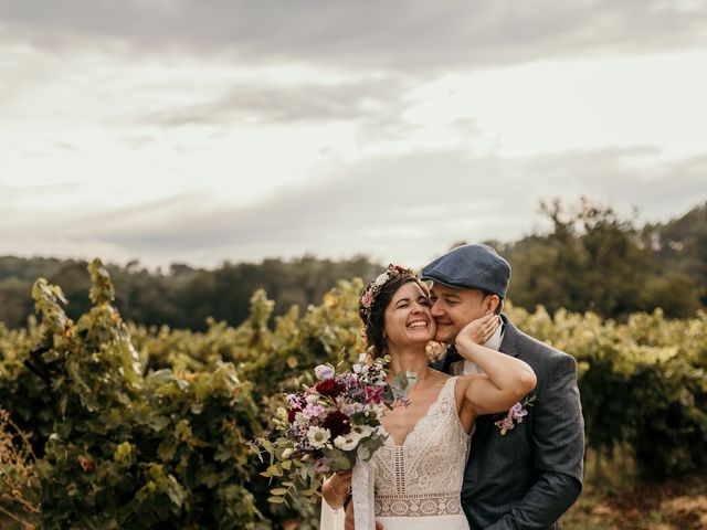 Le mariage de Elodie et Raphaël à Entrecasteaux, Var 75