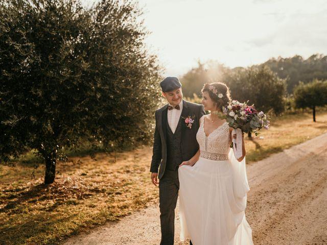 Le mariage de Elodie et Raphaël à Entrecasteaux, Var 81