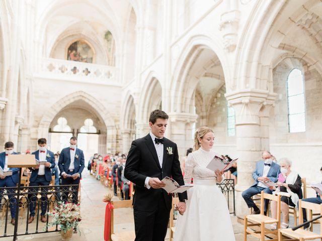 Le mariage de Christophe et Mélanie à Vézelay, Yonne 40