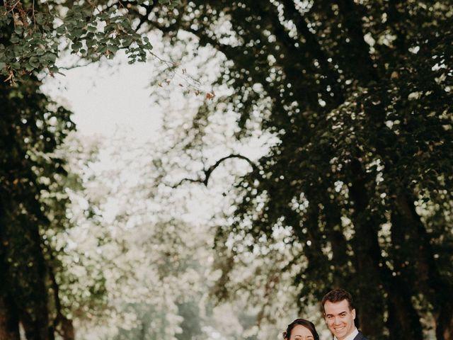 Le mariage de Jérémie et Leslie à Ligugé, Vienne 23