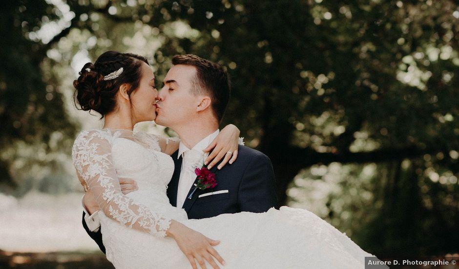 Le mariage de Jérémie et Leslie à Ligugé, Vienne