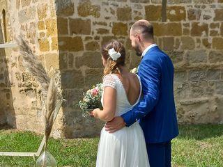 Le mariage de Leonie et François  1