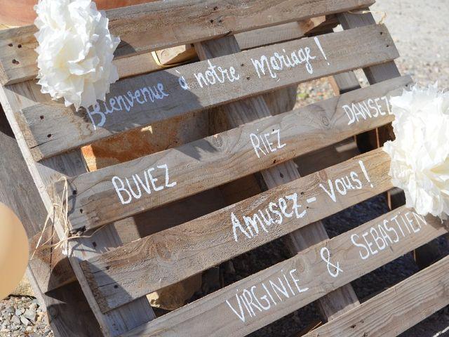 Le mariage de Sebastien  et Virginie à Capestang, Hérault 5