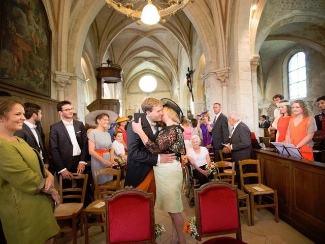 Le mariage de Grégoire et Camille à Villers-Saint-Frambourg, Oise 7