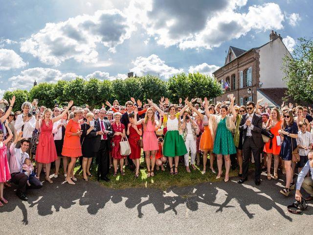 Le mariage de Grégoire et Camille à Villers-Saint-Frambourg, Oise 12