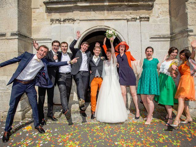 Le mariage de Grégoire et Camille à Villers-Saint-Frambourg, Oise 15