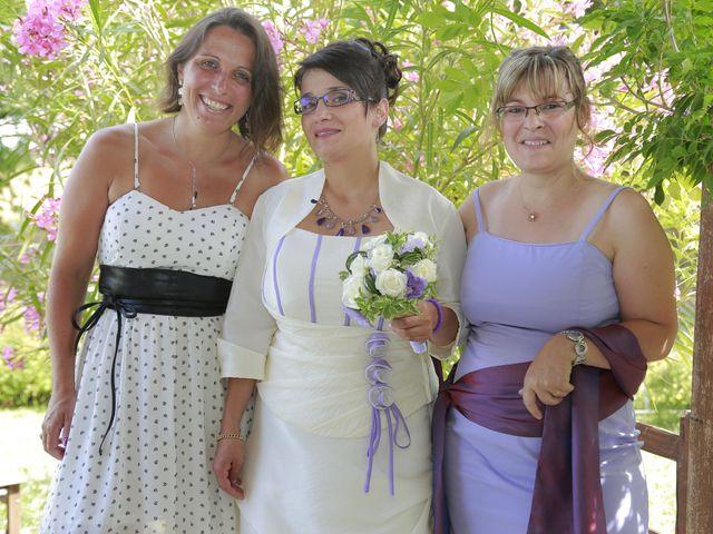 Le mariage de Cécile et Frédéric à Mirande, Gers 1