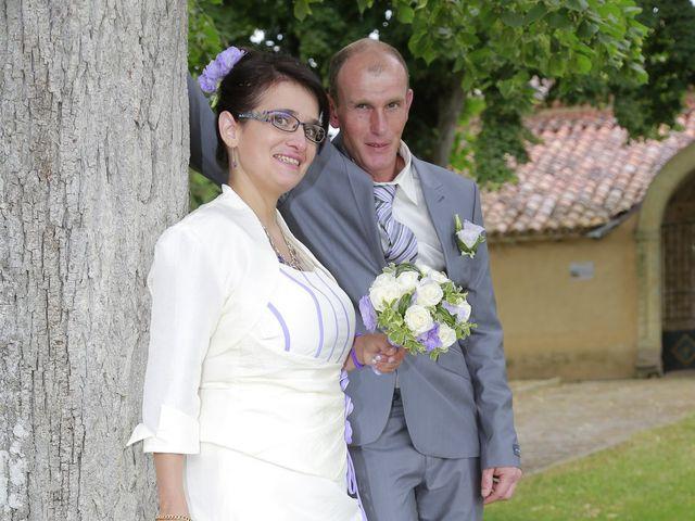 Le mariage de Cécile et Frédéric à Mirande, Gers 12